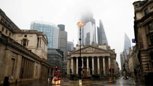 La Banque d'Angleterre prévoit une contraction de l'économie nationale de 9,5% cette année.