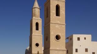 Mosteiro de Santo Antão, da Igreja Ortodoxa Copta, no Cairo, Egito.