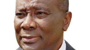 Karim Meckassoua, ancien ministre centrafricain des Affaires étrangères (de 2003 a 2005).
