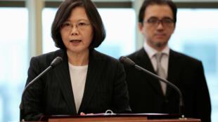 台湾中华民国总统蔡英文资料照