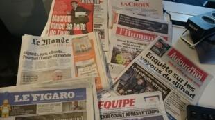Diários franceses 08.04.2016