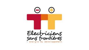 Logo de l'association Electriciens sans frontières.