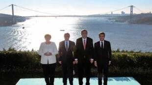 نشست سران ترکیه، روسیه، فرانسه و آلمان برای چارهجویی در مورد وضعیت سوریه، در شهر استانبول برگزار شد.