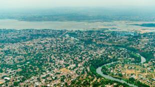 Vue aérienne de Brazzaville (image d'illustration).
