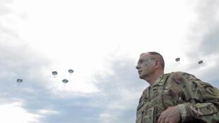 Ben Hodges, le patron de l'armée  de terre américaine en Europe.