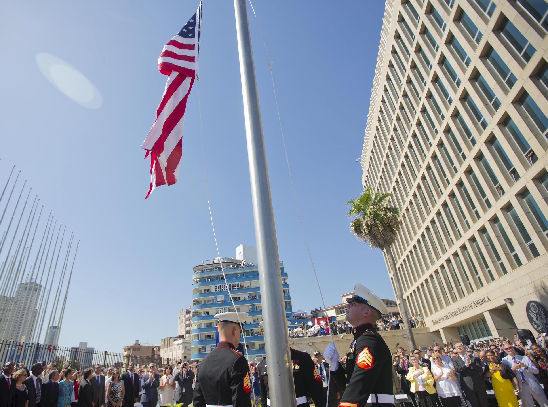 Đại sứ quán Mỹ tại La Habana, Cuba.