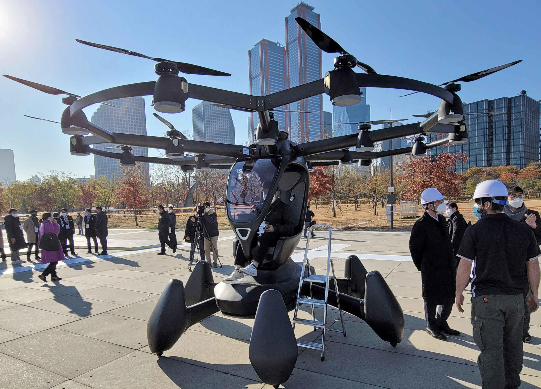 GettyImages 1229572519 - Corée-du-Sud drone taxi technologies