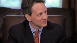 Timothy Geithner, le 23 mars 2009.