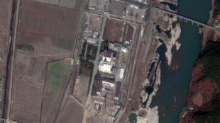 Una foto satelital de las instalaciones del Complejo Nuclear de  Yongbyon tomada a comienzos de noviembre.