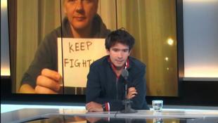 """Juan Branco, abogado de Julian Assange y autor del libro """"Crepúsculo"""" sobre los entresijos del poder de Emmanuel Macron."""