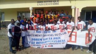 Les membres du Club RFI Labé.