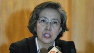 存档图片:联合国缅甸人权问题特别报告员李亮喜