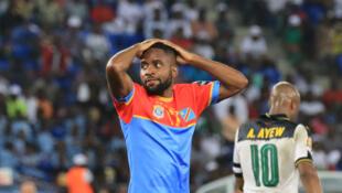 Le Congolais Cédric Bakambu durant la CAN 2017.