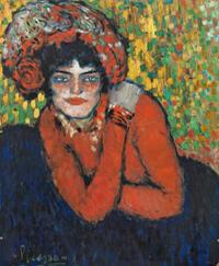 """L'attente"" (Margot), Pablo Picasso."