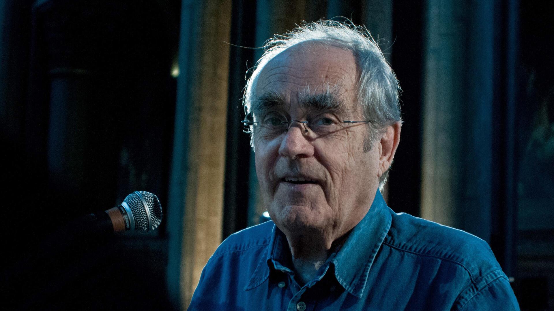 Michel Legrand, lors d'un concert live, le 20 mai 2010, à l'Église Saint-Germain-des-Prés à Paris.