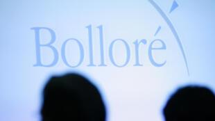 Logo du groupe Bolloré.