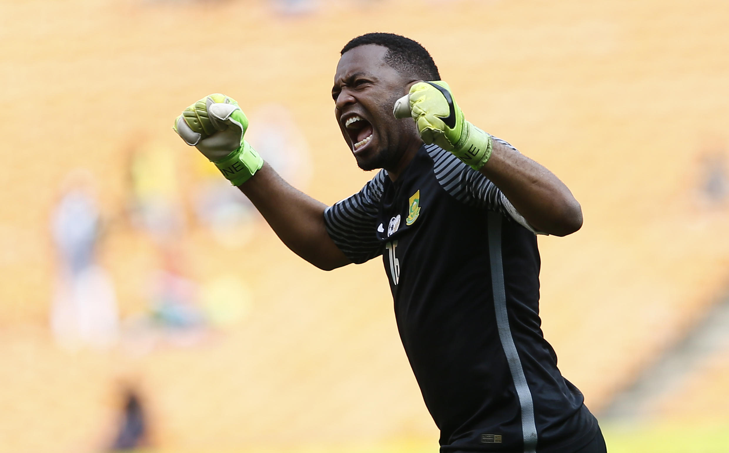 Kaizer Chiefs goalkeeper Itumeleng Khune saved a late penalty in a CAF Champions League victory over PWD Bamenda.