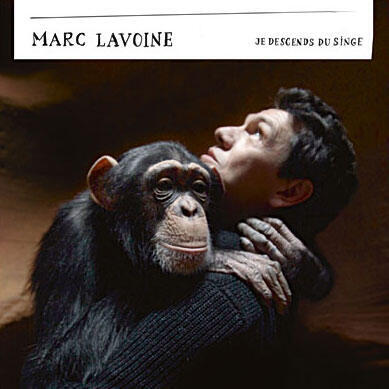 """Альбом Марка Лавуана """"Я произошел от обезьяны"""" (2012)"""