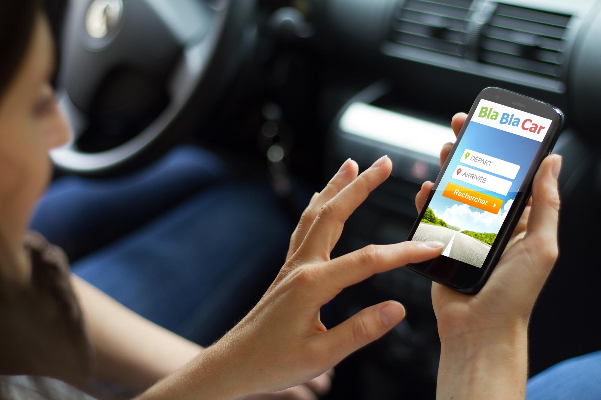BlaBlaCar conecta conductores para compartir viajes en auto.