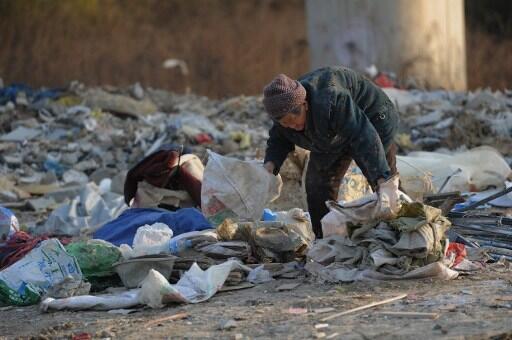 Ảnh chụp tại Bắc Kinh Trung Quốc nơi mà số lượng tỷ phủ không ngừng tăng lên.