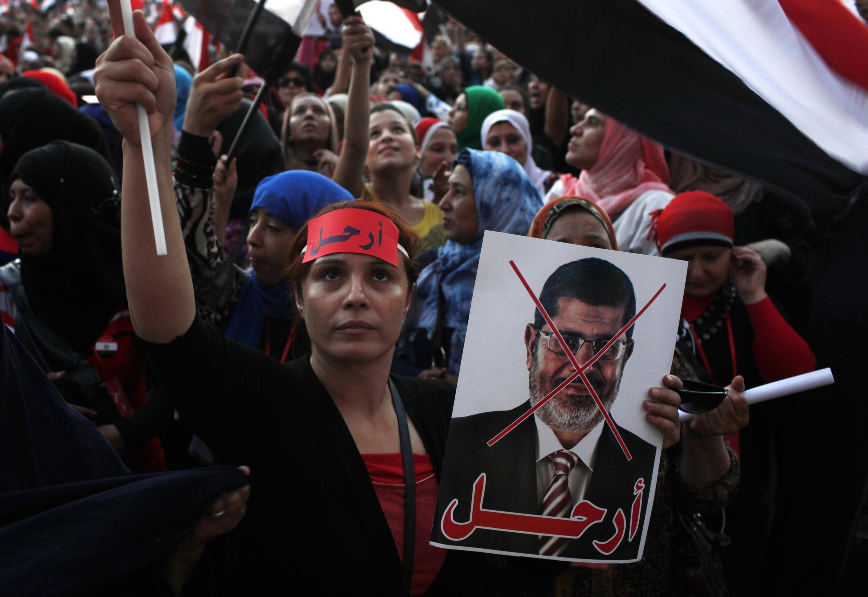 Biển người đòi tổng thống Morsi rời khỏi quyền lực. Reuters