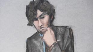 Djokhar Tsarnaev, condamné à mort par un jury populaire en mai, a vu sa sentence confirmée mercredi 24 juin par un juge fédéral.