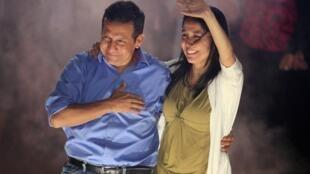 Humala declares victory in presidential runoff