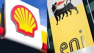 Nembo za kampuni za Shell na Eni