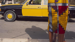 Mimi Cherono Ng'ok : « Untitled » (detail), 2014, série No One But You (Dakar), impression jet d'encre,120 x 120 cm.