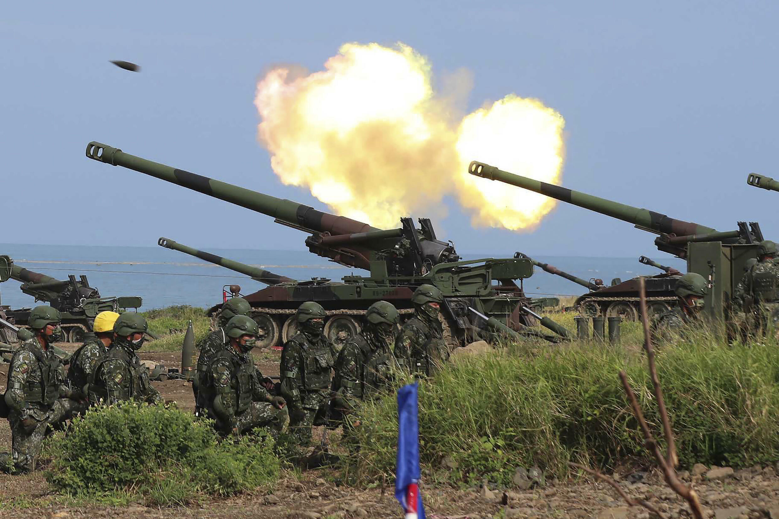 taiwan exercices militaires defense