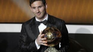 Lionel Messi ayer en Zúrich.