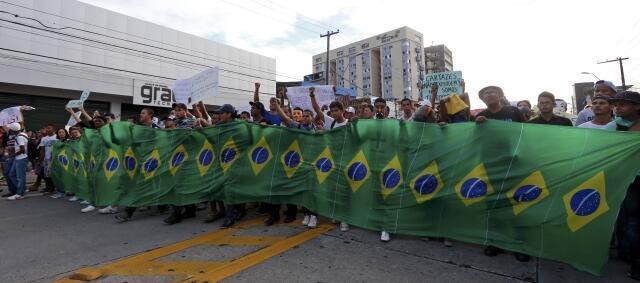 Manifestação contra as Copas das Confederações