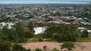Vue de la capitale burundaise, Bujumbura.