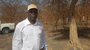 Guillaume Doulkom, coordinateur national de l'ONG SOS Sahel France, résidant au Burkina Faso.