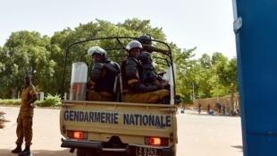 Un véhicule de la gendarmerie burkinabè. (Image d'illustration).