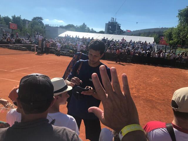 Marcelo Melo disse adeus a Roland Garros neste sábado, 1° de junho de 2019.