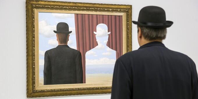 Exposição René Magritte no Centro Pompidou