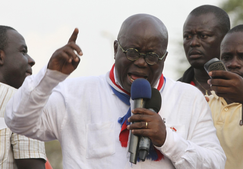 Nana Akufo-Addo, le leader du NPP, candidat à l'élection présidentielle.