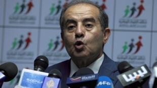 Mahmoud Jibril, líder da Aliança das Forças Nacionais líbias.
