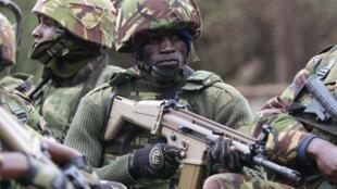 Wanajeshi wa Kenya, wakiwa kwenye opersheni dhidi ya magaidi wa Al Shabab waliovamia jengo la Westgate jijini Nairobi Septemba 22 2013