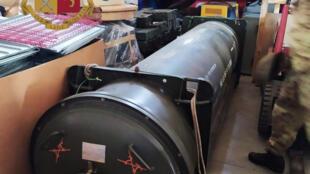 Míssil de fabricação francesa foi encontrado em depósito da extrema direita, perto de Turim
