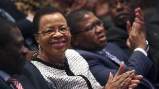 Graça Machel, la troisième femme de Nelson Mandela.