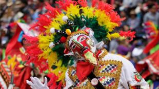 Carnaval de Oruro, Bolivia, este 25 de febrero de 2017.