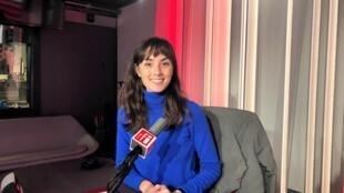 Élisa Shua Dusapin, écrivaine française en studio à RFI (septembre 2020)