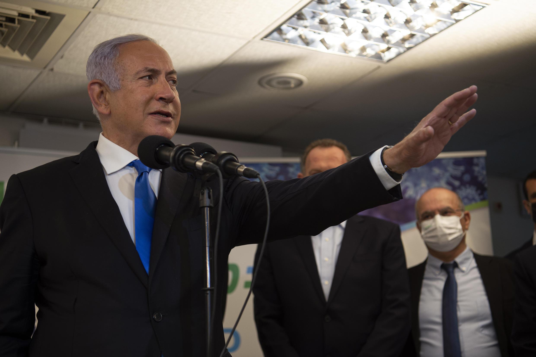 بنیامین نتانیاهو نخست وزیر اسرائیل.