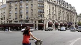 El gran hotel parisino Lutetia (junio 2010).