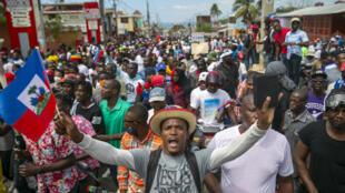 haiti-manifestation