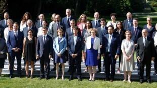 Novo governo francês, após o primeiro Conselho de Ministros  - 22.6.2017