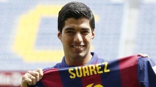 Luis Suarez, mchezaji wa Barcelona, aifikisha timu yake katika fainali ya kombe la dunia baina ya vilabu.