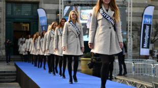 """Участницы конкурса """"Мисс Франция-2017"""""""
